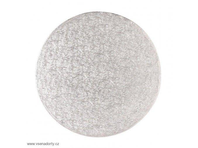 Stříbrná extra silná - kruh 20 cm