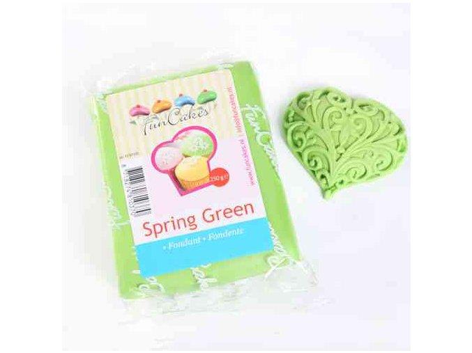 Fondánová hmota modelovací Spring green 250 g