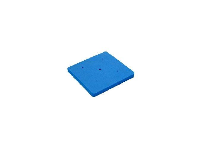 Modelovací podložka modrá