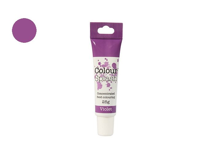 Colour Splash fialová 25 g