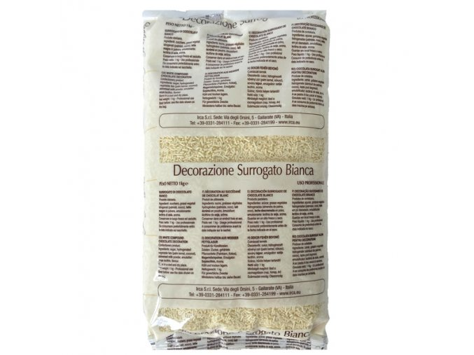 Bílá čokoládová rýže 1 kg