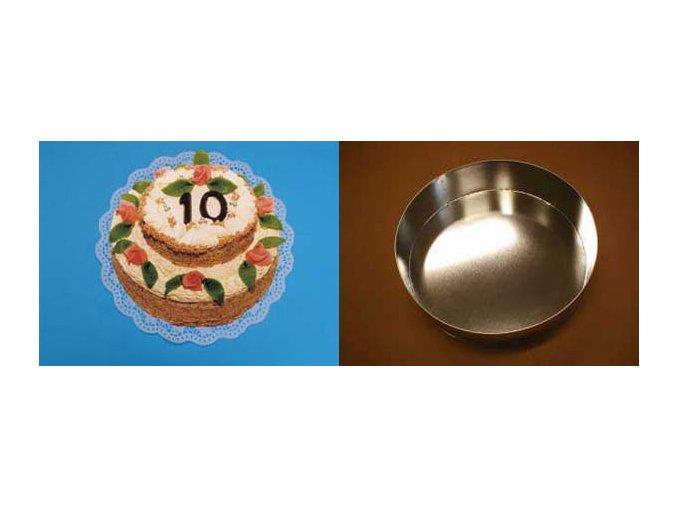 Kruh střední 26 cm - dortforma