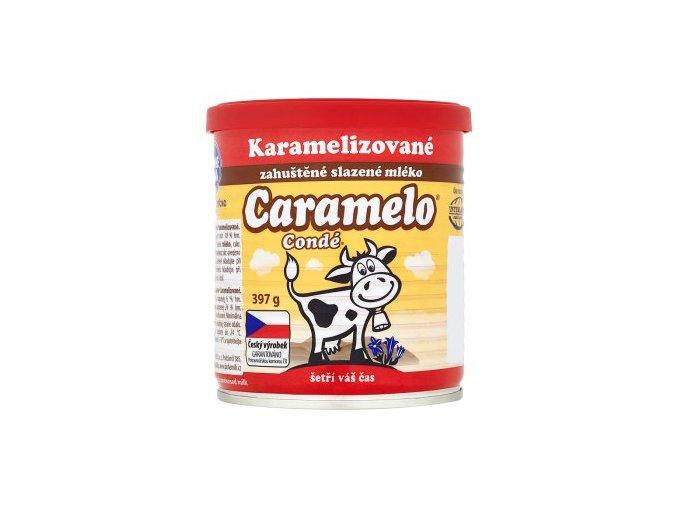 Kondenzované mléko slazené karamelizované 1 kg