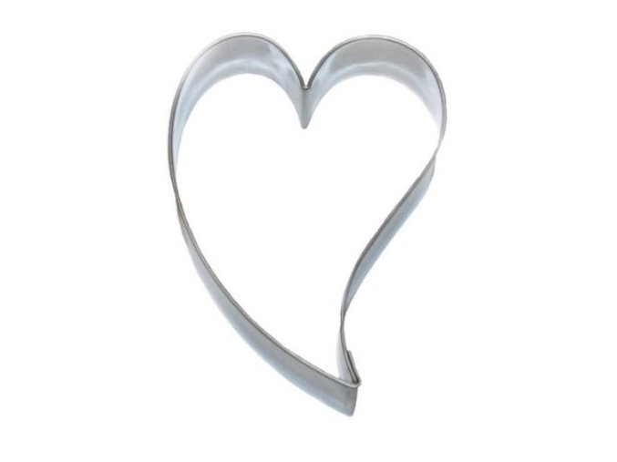 Srdce nepravidelné - kov
