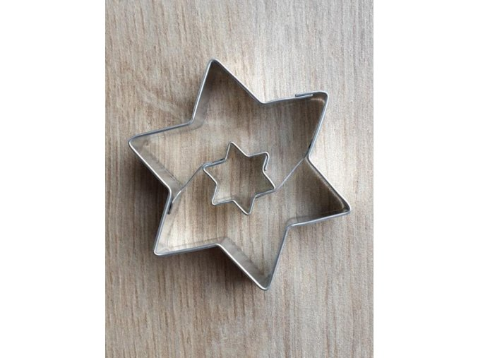 Hvězdička s hvězdičkou - kov