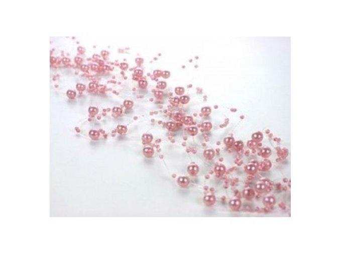 Girlanda - růžová
