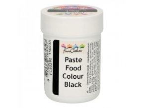 Gelová barva Fun Colours černá 30 g