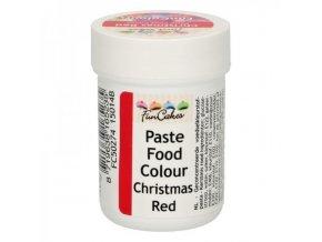 Gelová barva Fun Colours christmas red 30 g