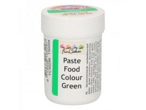 Gelová barva Fun Colours zelená 30 g