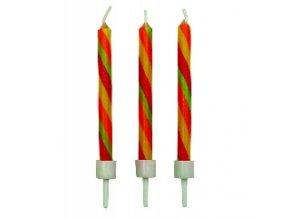 Svíčky Twist 10 ks