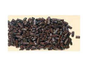 Hnědé čokoládové šupinky