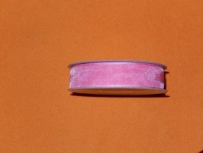 Stuha šifonová - světle růžová 1 m