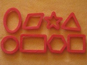 Vykrajovátka ornamenty - plast