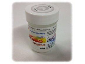 Food Colours - bílá kelímek 35 g