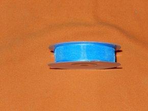 Stuha šifonová - jasně modrá 1 m