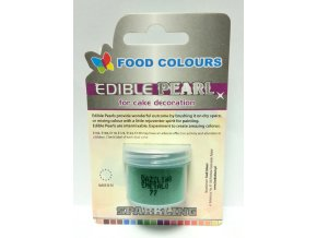 Food Colours prachová Dazzling Emerald