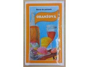 Potravin. barvivo - oranžové