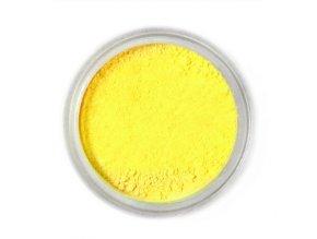 Citronově žlutá F - prachová - 4 g - Citromsárga