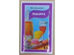 Potravin. barvivo - fialová