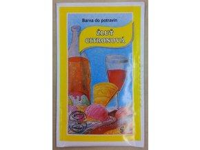 Potravin. barvivo - žluť citronová