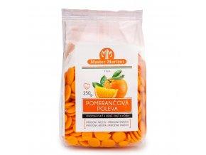Poleva pomeranč - pecičky