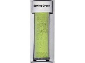 Spring green - prachová
