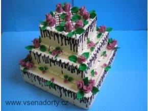 Čtverec 10 x 10 - dortforma