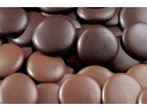Čokoládová poleva hořká větší - pecičky
