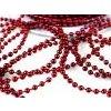 Perličky červené - 3 mm - 2 m