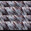 Čokotransfer folie - Červenobílé vlnky - Marabout