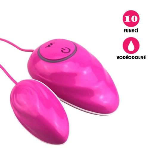 Vibrační vajíčko Ceramic Touch Egg růžové