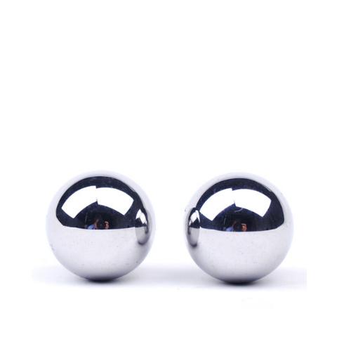 Ocelové vaginální kuličky Steel Pleasure Balls