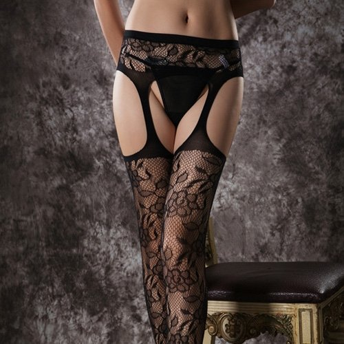 Podvazkový pás s punčochami Sexy Garter Stockings