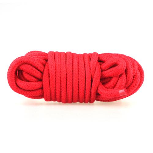 Bondage lano 10m červené