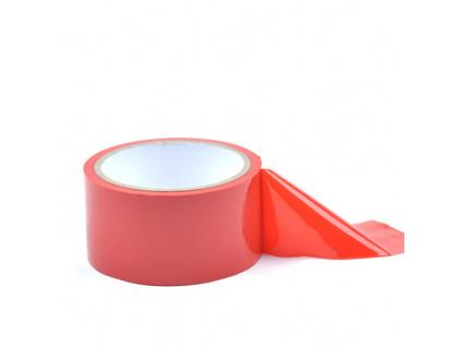 Bondage Páska Non-sticky Tape 15m červená