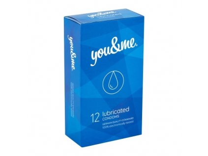 youandme kondomy lubricated 12ks 1