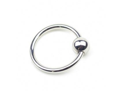 Ocelový erekční kroužek Glans Ring 30mm