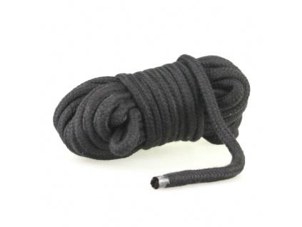 Bondage lano 10m černé