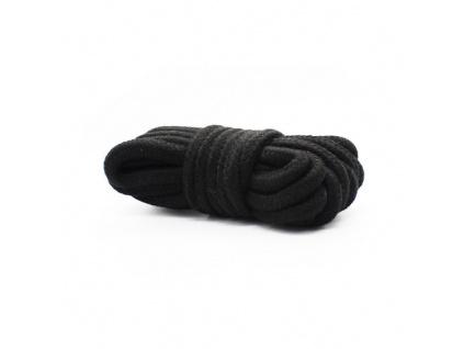 Bondage lano 5m černé