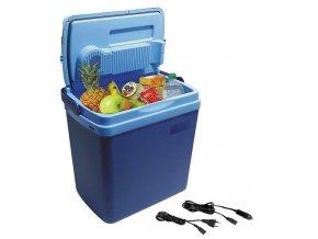 Chladící box  25 litrů BLUE 220/12V displej s teplotou