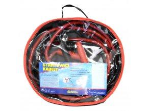 Kabely startovací 200 A, 2,5 m, 50% měď, 3,2 mm2