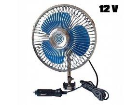 Ventilátor 12V  Maxi otočný
