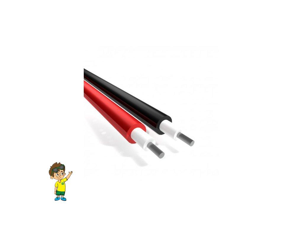 Solární měděný kabel 1x2,5mm2 www.rekakaravany.cz