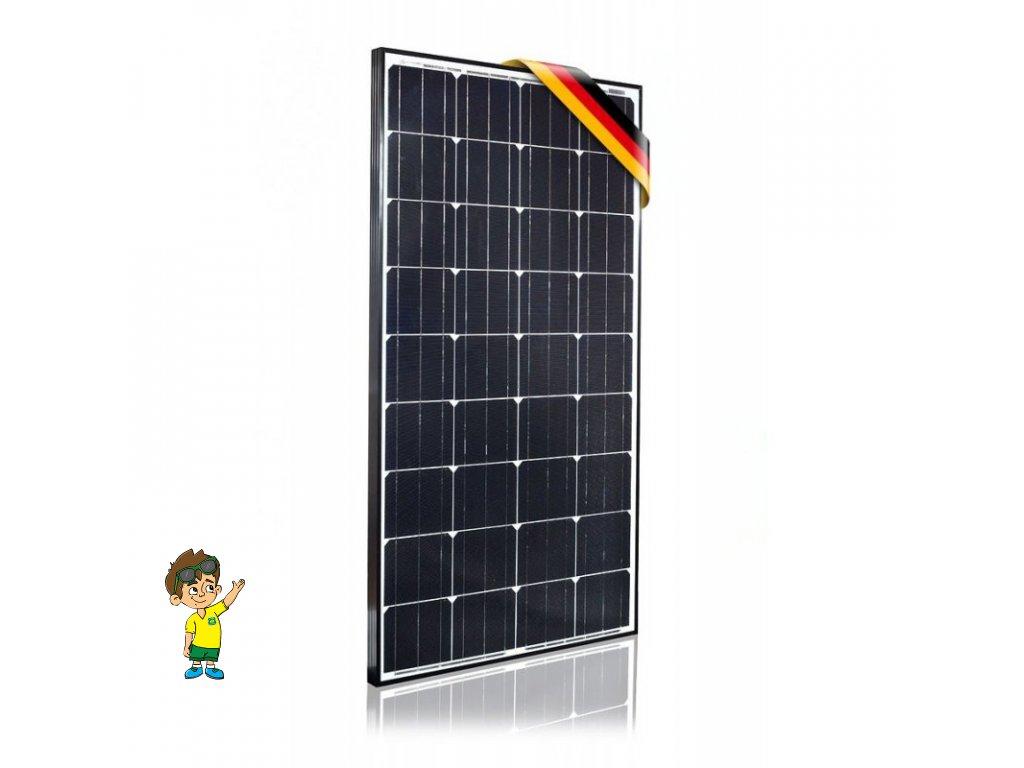 130W MAXX monokrystalický solární panel, www.vseprokaravan.cz