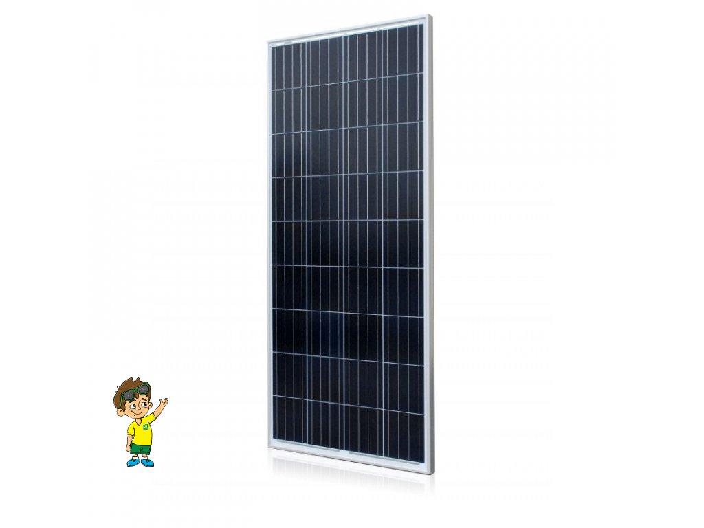 160W polykrystalický solární panel, MAXX , www.vseprokaravan.cz