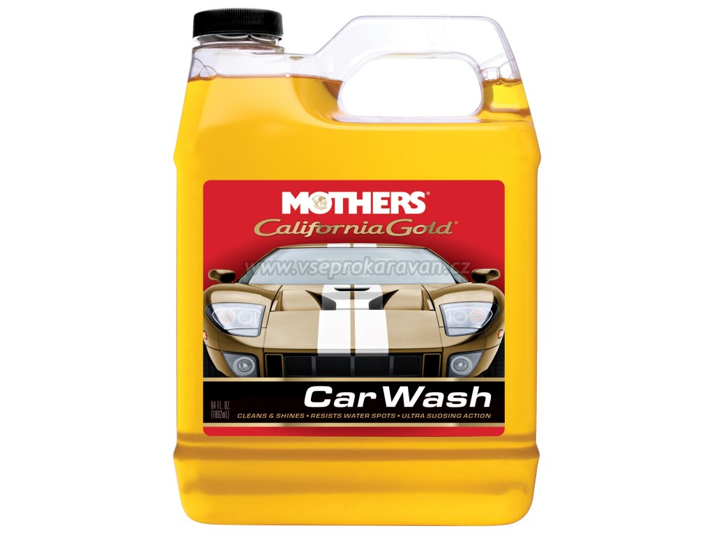 Profesionální autošampon, 3,785 l, Mothers Professional Auto Wash, www.vseprokaravan.cz