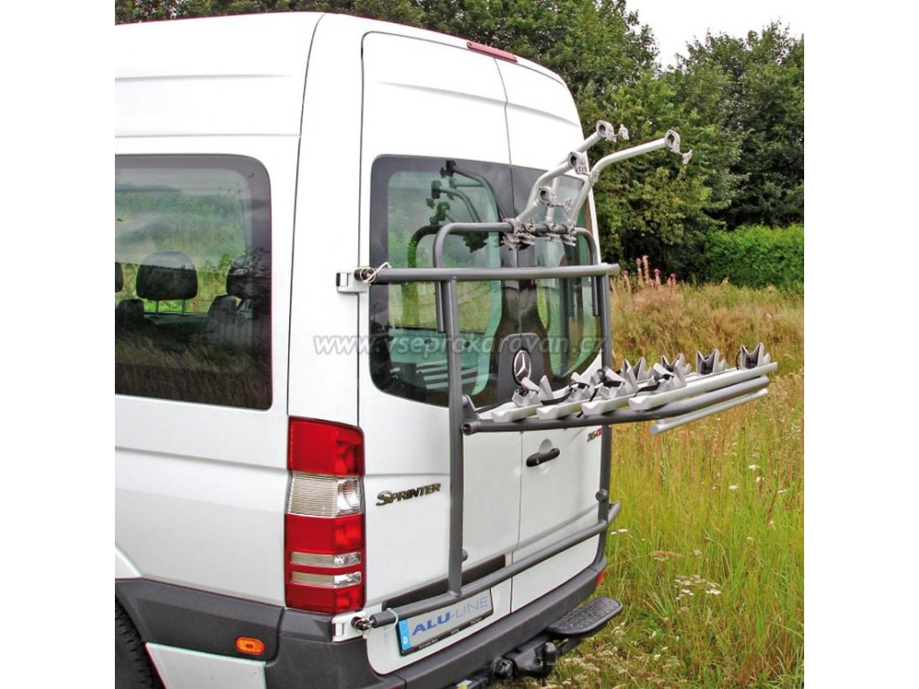 Nosič kol na dodávková vozidla, EuroCarry Bike Carrier www.vseprokaravan.cz