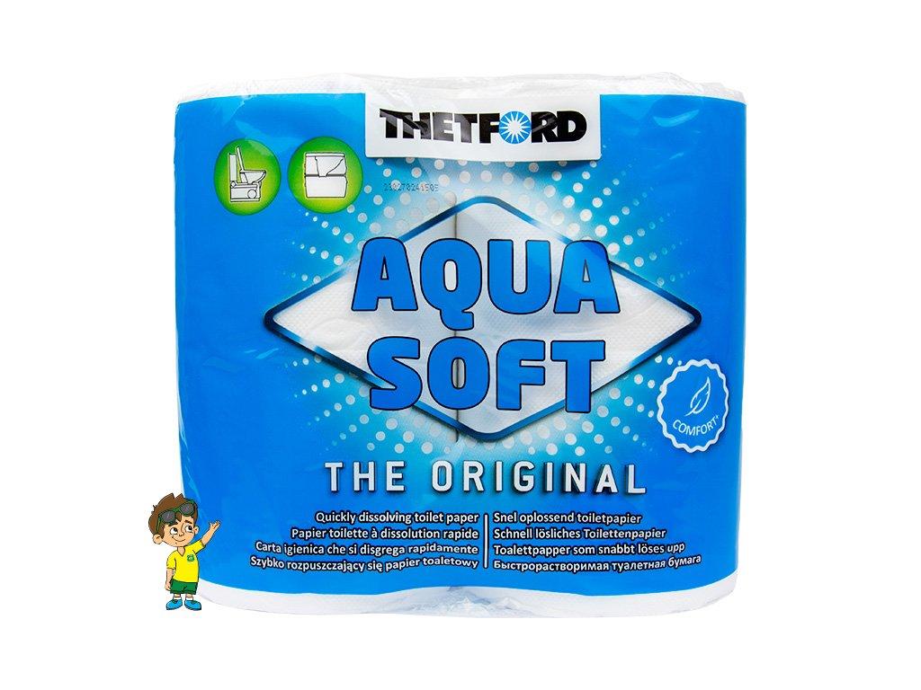 Rozkladový toaletní papír, Aqua-Soft, THETFORD