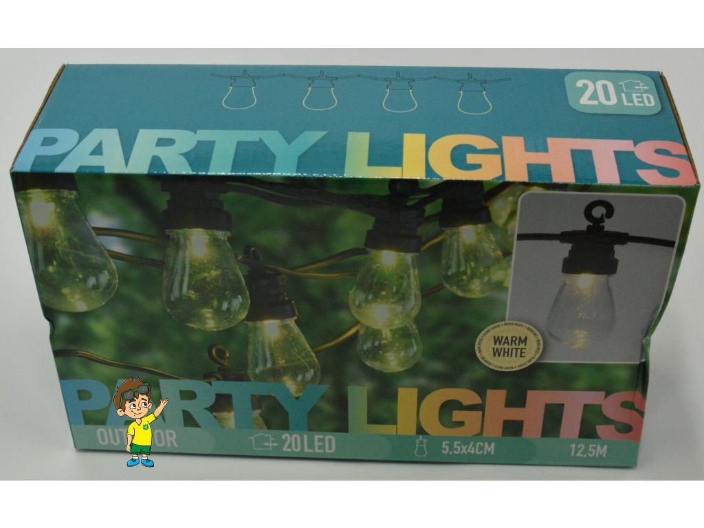 LED osvětlení žárovky, teplá bílá, 20 LED , www.vseprokaravan.cz