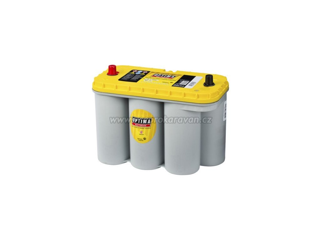 Trakční baterie Optima Yellow Top S-5.5, 75Ah, 12V www.vseprokaravan.cz
